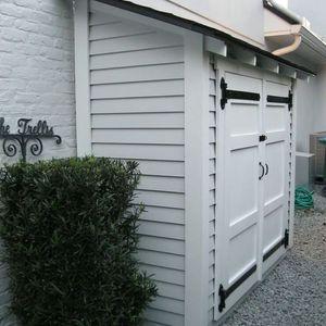150 Garden and Outdoor Storage Ideas - Garden Sumo #gardenstorage #outdoorstorage